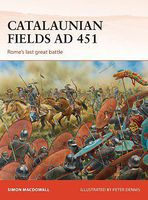 Osprey-Publishing Campaign- Catalaunian Fields AD451 Romes Last Great Battle Military History Book #c286