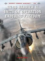 Osprey-Publishing AV8B Harrier II Units of Operation Enduring Freedom Military History Book #ca104