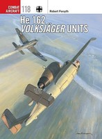 Osprey-Publishing Combat Aircraft He162 Volksjager Units Military History Book #ca118