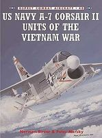 Osprey-Publishing Combat Aircraft - US Navy A7 Corsair II Units of the Vietnam War Military History Book #ca48