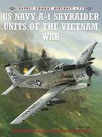 Osprey-Publishing Combat Aircraft - USN A1 Skyraider Units of the Vietnam War Military History Book #ca77