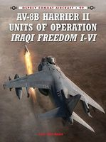 Osprey-Publishing AV8B Harrier II Units of Operations Iraqi Freedom I-II Military History Book #ca99