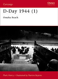 Osprey Publishing D-Day 1944 Omaha Beach -- Military History Book -- #cam100