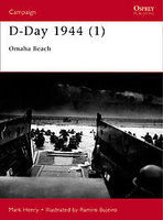 Osprey-Publishing D-Day 1944 Omaha Beach Military History Book #cam100
