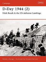 Osprey-Publishing D-Day 1944 Utah Beach and the US Airborne Landings Military History Book #cam104