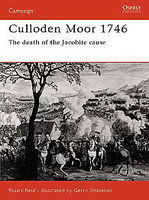 Culloden Moor 1746 The Death of the Jocobite Cause Military History Book #cam106