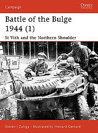 Osprey Publishing Battle of The Bulge 1944 (1) -- Military History Book -- #cam115