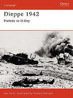 Osprey-Publishing Dieppe 1942 Military History Book #cam127