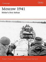 Osprey-Publishing Moscow 1941 Military History Book #cam167