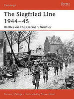 Osprey-Publishing Siegfried Line 1944-45 Military History Book #cam181
