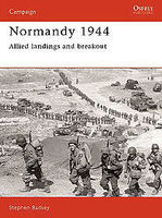 Osprey-Publishing Normandy 1944 Allied Landings and Breakout Military History Book #cam1