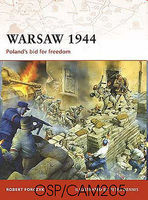 Osprey-Publishing Warsaw 1944 Military History Book #cam205