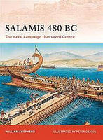 Osprey-Publishing Salamis 480 BC Military History Book #cam222