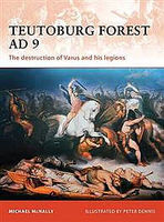 Osprey-Publishing Teutoburg Forest AD 9 Military History Book #cam228