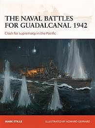 Osprey-Publishing The Naval Battles of Guadalcan Military History Book #cam255