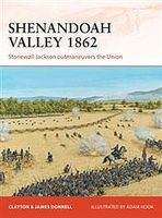 Osprey-Publishing Shenandoah Valley 1862 Military History Book #cam258