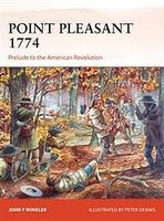 Osprey-Publishing Point Pleasant 1774 Military History Book #cam273