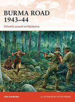 Osprey-Publishing Burma Road 1943-44 Military History Book #cam289