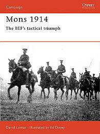 Osprey Publishing Mons 1914 -- Military History Book -- #cam49