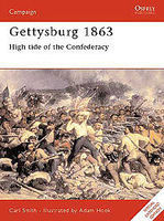 Osprey-Publishing Gettysburg 1863 Military History Book #cam52