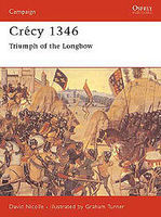 Osprey-Publishing Crecy 1346 Military History Book #cam71