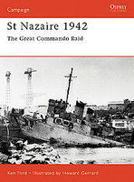 Osprey-Publishing St Nazaire 1942 Military History Book #cam92