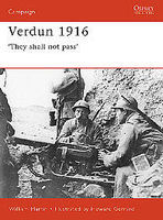 Osprey-Publishing Verdun 1916 Military History Book #cam93