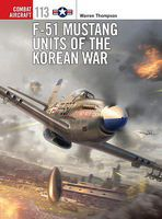 Osprey-Publishing F-51 Mustang Units of the Korean War Military History Book #com113