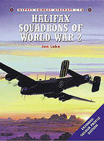 Halifax Squadrons of WWII Military History Book #com14