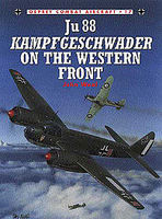 Ju-88 Kamrfgeschwader on the Western Front Military History Book #com17