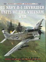 Osprey-Publishing A-1 Skyraider Units of the Vietnam War Military History Book #com77