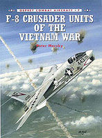 Osprey-Publishing F-8 Crusader Units of the Vietnam War Military History Model #com7