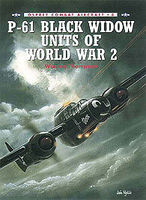 Osprey-Publishing P-61 Black Widow Units of WWII Military History Book #com8