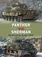 Osprey-Publishing Panther vs Sherman Battle of the Bulge 1944 Military History Book #d13