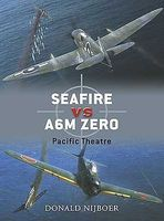 Osprey-Publishing Seafire vs A6M Zero Pacific Theatre Military History Book #d16