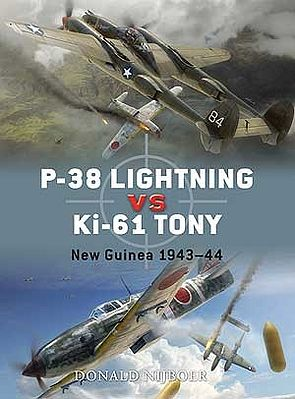 Osprey Publishing P38 Lightning vs Ki61 Tony New Guinea 1943-44 -- Military History Book -- #d26