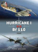 Osprey-Publishing Hurricane I vs Bf110 1940 Military History Book #d29