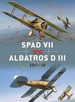 Osprey-Publishing Spad VII vs Albatros D III 1917-18 Military History Book #d36
