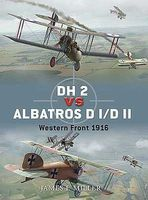 Osprey-Publishing DH2 vs Albatros DI/DII Western Front 1916 Military History Book #d42