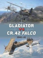 Osprey-Publishing Gladiator vs CR42 Falco 1940-41 Military History Book #d47