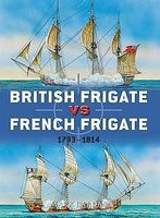 Osprey-Publishing British Frigate vs French Frigate Military History Book #d52