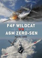 Osprey-Publishing F4F Wildcat vs A6M Zero-sen Military History Book #d54
