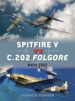 Osprey-Publishing Spitfire V vs C202 Folgore 1942-43 Military History Book #d60
