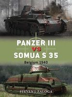 Osprey-Publishing Panzer III vs Somua S35 Belgium 1940 Military History Book #d63