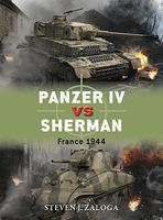 Osprey-Publishing Panzer IV vs Sherman France 1944 Military History Book #d70