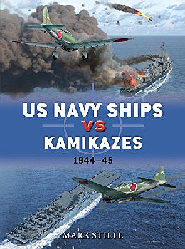 Osprey-Publishing Duel - US Navy Ships vs Kamikazes 1944-45 Military History Book #d76