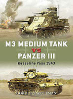 Osprey-Publishing M3 Grant Vs Panzer III 1943 Military History Book #due10