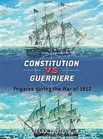 Osprey-Publishing Constitution Vs Guerriere Military History Book #due19