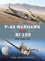 Osprey-Publishing P-40 Warhawk Vs Bf-109 MTO 1942-44 Military History Book #due38