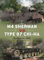 Osprey-Publishing M4 Sherman Vs Type 97 Chi-cha Military History Book #due43